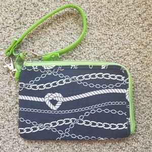 Thirty-one Chain and rope Wristlet